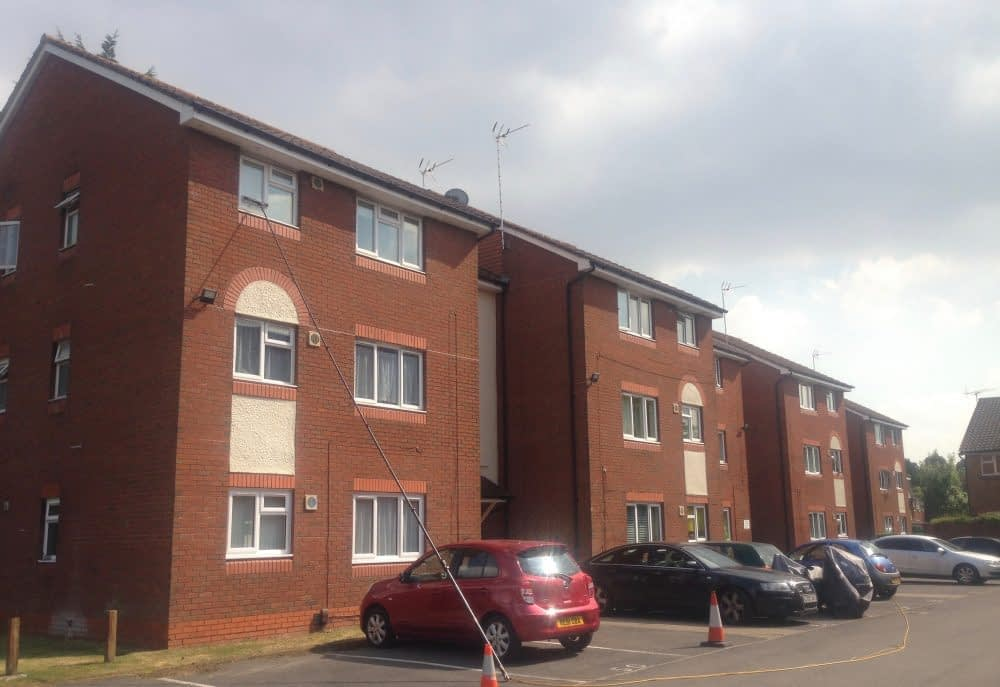 Window cleaning flats and apartments